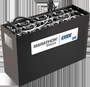 Кислотные аккумуляторы для погрузчиков ричтраков Exide Classic Marathon