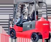 Аккумуляторы для четырёхопорных электрических погрузчиков Nichiyu