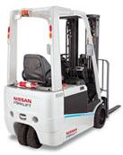 Аккумуляторы для трёхопорных электрических погрузчиков Nissan TX